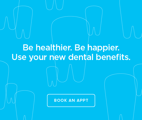 Be Heathier, Be Happier. Use your new dental benefits. - Norterra Dental Group and Orthodontics